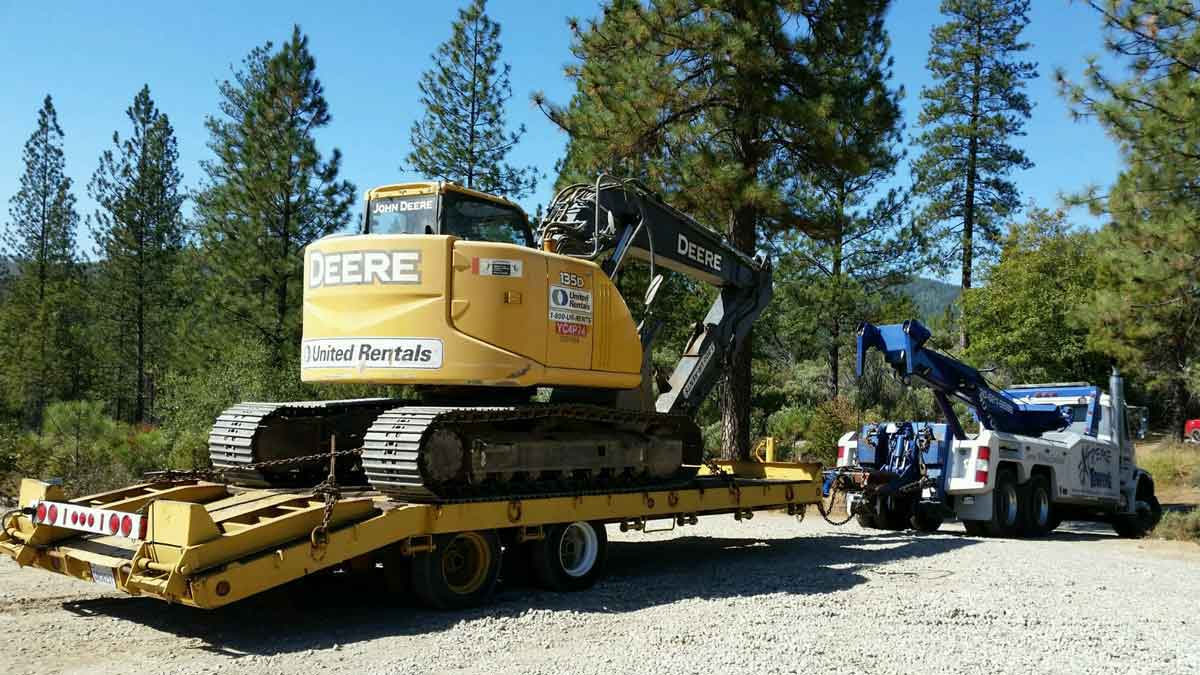 Equipment Hauling Placerville