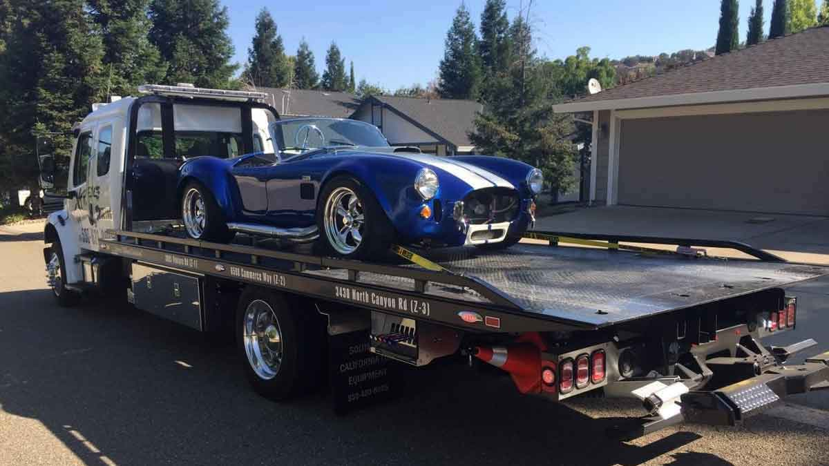 Towing Placerville California